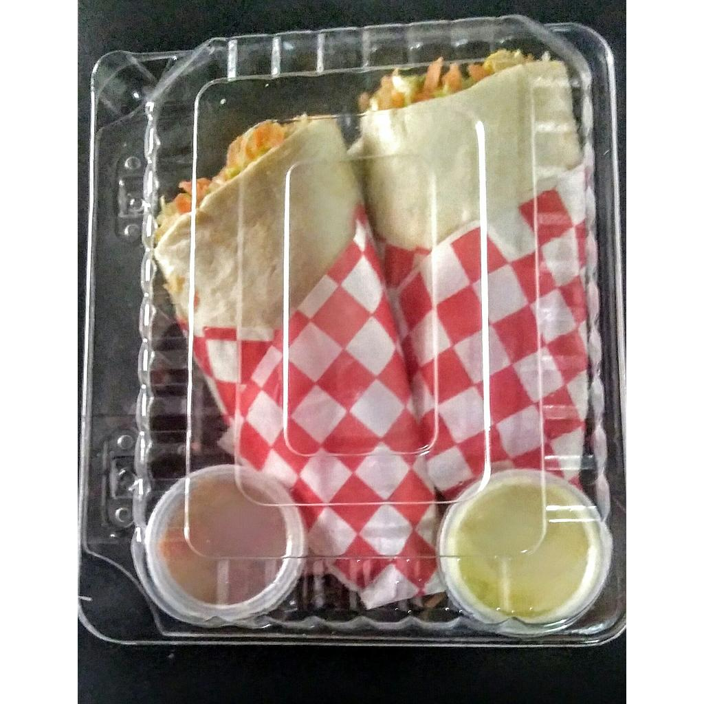 COMBO WRAP DE POLLO/BEBIDA 200 ML